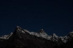 Friulian Dolomites - the petrified starship (*Sepp da Nert*) Tags: luna neve moonlight notte stelle dolomitifriulane duranno carnicalps lodina prealpicarniche cimadeipreti cimadeifrati fiuliandolomites