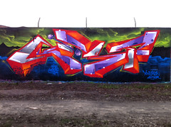 Northern lite - Kast AFX (Kast - AFX) Tags: art last lite lights graffiti hungary budapest apocalypse piece aerosol northern hof northernlights 2012 kast kest fanatix