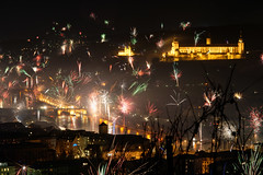 Frohes neues Jahr! / Happy New Year! (mattrkeyworth) Tags: party germany bayern deutschland bavaria fireworks franconia newyear celebration franken wurzburg wrzburg newyearsday happynewyear feuerwerk wuerzburg altemainbrcke festungmarienberg frohesneuesjahr 2013 gutesneuesjahr planart1485 mattrkeyworth silvester2012 01012013
