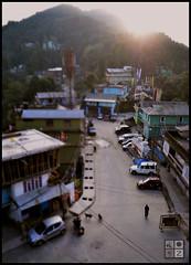 Kaluk : a small hill town (LogZ here) Tags: sunrise sikkim kaluk