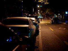 Parking (28.3/52) (nicoyangjie) Tags: guangzhou parking nightlight streetsnap summiluxm50mmf14asph jiangnanxi leicam9p