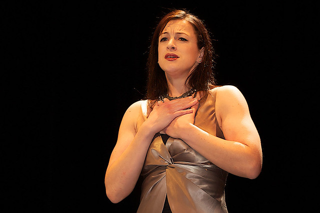 Madeleine Pierard performing at the Hobart Baroque Festival © Karen Brown