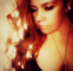all that glitters ain't gold 2/365 (Manhattan Girl) Tags: selfportrait me redhead textured 2365 365project inspiredbygoldfromprince