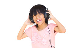Beautiful cute happy little girl with headphones (Patrick Foto ;)) Tags: portrait people music white cute girl beautiful smile face female hair asian fun thailand happy person kid big hands asia child cheery little expression background joy daughter young happiness blond thai sound headphones acoustic preschool tune jolly cheerful joyful audio isolated rhythm hear earphones listen jovial caucasian
