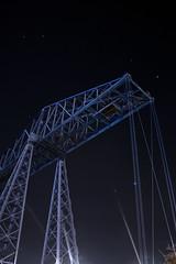 Transporter Bridge (systolic_thrill) Tags: bridge sky metal canon river stars eos steel engineering landmark kit 1855mm stockton efs tees teeside cleavland middlesbough 400d transprter