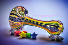 Rainbow Bowl (NuggPorn | Legal Medicinal Cannabis of California) Tags: art love glass stars rainbow pipe haight medicine marijuana cannabis