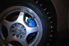 2013-01-05 FirstStudMounted_26 (Absinthe-N-me) Tags: subaru iceracing studdedtire