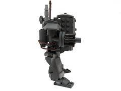 "Central Machines ""Gremlin"" Class (forrest_john) Tags: war lego machine gremlin mech steampunk moc dieselpunk"