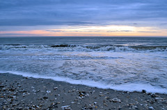 Atlantic Dawn (Jeka World Photography) Tags: ocean shells seascape beach clouds sunrise coast break tide southcarolina wave atlantic jekaworldphotography jeffrosephotography