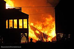 Seven C's Condo Fire 1.10.13 (BrandonWaterfield) Tags: news fire nc kill smoke north january hills condo seven carolina devil cs outer condos banks obx 2013