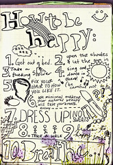 127/365 (the constant emptying) Tags: handwriting happy drawing steps doodle sing howto guide 365 staci eckenroth theconstantemptying