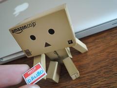 Hello ! My name is... ! (Damien Saint-) Tags: toy amazon vinyl yotsuba danbo amazoncojp revoltech danboard