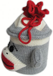 Sock Monkey Project Bag PDF