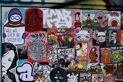 stickercombo (wojofoto) Tags: streetart amsterdam stickerart stickers stickercombo wojo polderweg wojofoto