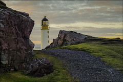 Sunrise at Rua Reidh Lighthouse (Michael~Ashley) Tags: lighthouse clouds sunrise landscape coast scotland highlands path north scenic scottish rua loch ewe reidgh