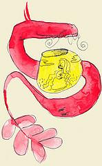 Gourd Engraving- Considering Folk Art and Kitsch