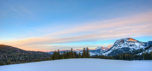 Glarner Alpen at Sunset