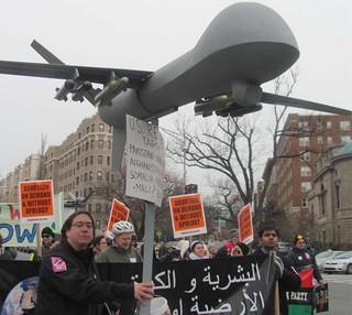 //www.flickr.com/photos/38908037@N02/8422046110/: Protesting Drones at Obama's Inauguration: Protesting Drones