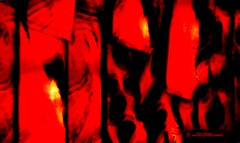 della serie PASSAGES ... n. 5 ... LA PASSIONE NEL BUIO (Maria Grazia Marrulli) Tags: progettofotogpubpassage composizione astratto abstract abstrait mosso riflesso vetrina strade street routes colore colours couleurs rosso rouge red nero noir black dedica dedicata dedicated alcuoredelledonne p citazione certecosesifanno mina parigi francia viaggio travel vojage
