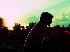 Sunset (Gianluca Ferrulli) Tags: sunset italy sun me acquavivadellefonti uploaded:by=flickrmobile flickriosapp:filter=chameleon chameleonfilter