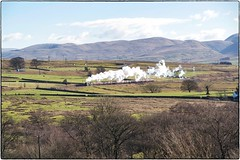 LNER Gresley A4 Pacific 4-6-2 No 60009 'Union of South Africa'. Shap. (Alan Burkwood) Tags: africa winter pacific no south union wells a4 cme shap lner howgills 462 gresley 60009