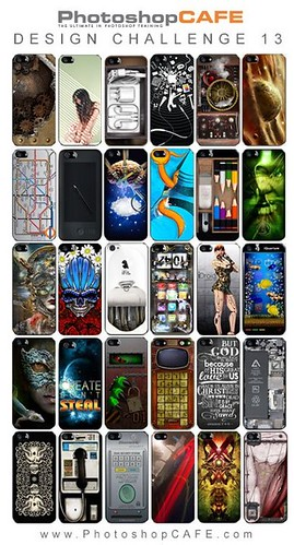 Decided to share this little collage I made up I love some of the clever ideas and excellent Photoshop skills demonstarated in these Photoshop Smartphone case designs. It