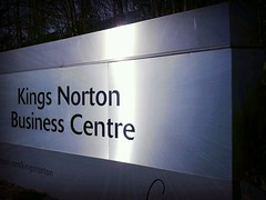 Kings Norton Business Centre - Melchett Road, Kings Norton - sign