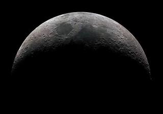 Mineral Crescent Moon