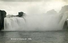 [IDAHO-B-0174] Snake River - Shoshone Falls (waterarchives) Tags: idaho river realphotopostcardrppc snakeriver shoshonefalls falls