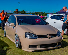 Car Show 2 (View From The Chair Photography) Tags: carshow car golf vw low modded