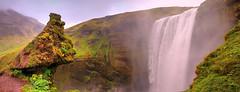 Skogafoss (Waterfall Guy) Tags: skogafoss waterfall iceland rocks