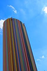 Arc en ciel (StephanExposE) Tags: paris iledefrance france ladefense stephanexpose batiment building architechture canon 600d 1635mm 1635mmf28liiusm moderne ciel sky