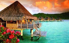 BORA BORA: VACANZA ROMANTICA ALL'INSEGNA DEL TRAMONTO (ViaggioRoutard) Tags: vacanza relax romantica estate