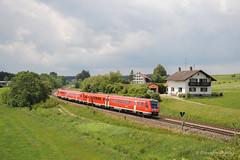 DB REGIO - AITRANG (Giovanni Grasso 71) Tags: aitrang allgu allgubahn kbs970 br612 db regio automotrice diesel nikon d700 giovanni grasso