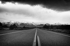 To the mountains (filip.molcan) Tags: bw california landscape mountains roadtrip traveling yosemites