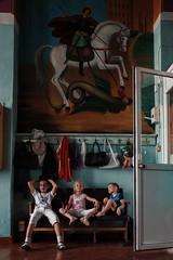 Sunday worship (stromin.alex) Tags: photojournalism streetphotography photography journalism documentary children church russia motherrussia portrait project russianortodoxchurch stavropol