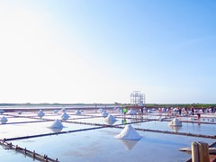Salt Field (Vina Chen) Tags: aroundtaiwan taiwan tainan salt saltpan saltfield