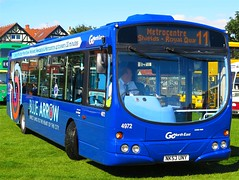 Go North East 4972 (NK53UNY) - 29-08-16 (peter_b2008) Tags: gonortheast goaheadgroup gonorthern bluearrow scania l94ub wright solar 4972 nk53uny buses coaches transport buspictures