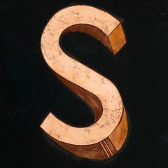 letter S (Leo Reynolds) Tags: xleol30x s sss oneletter letter xsquarex panasonic lumix fz1000