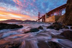 Marshall's Sunset (Nicholas Steinberg photography) Tags: beach coast california sanfrancisco marshallsbeach seascape sunset sunrise landscape epic