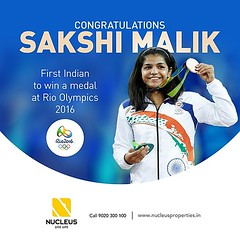 Proud moment for India......  Congratulations Sakshi Malik for winning the bronze medal in Women's 58 Kg Freestyle Wrestling at Rio Olympics 2016 .  #Kerala #Kochi #India #Olympics #Architecture #Home #Rio #City #Elegance #Environment #Elegant (nucleusproperties) Tags: life beautiful wrestling kochi elegant style olympics kerala rio realestate lifestyle india luxury comfort apartment nature architecture interior gorgeous design elegance environment beauty building exquisite view city atmosphere home living