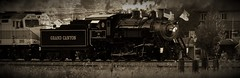 #29 Putting it Train to Bed (Douglas H Wood) Tags: gcrr williams 29 arizona nps bw steam