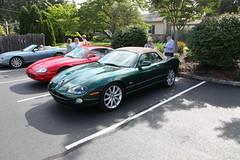 2016_0821_095021_00004 (brian9317) Tags: car pauline jaguar dvjc merluzzi xk8 kob hegner kitson dvjcbreakfastaugust2016