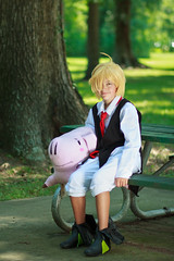 IMG_8408 (firecloak) Tags: sevendeadlysins nanatsunotaizai cosplay meliodas boy hawk pig