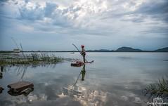 Coming in (Padmanabhan Rangarajan) Tags: kolavai paranur lake chennai chengalpattu fishing fishermen
