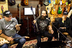 John Petrucci Guitar Experience (steve rose photos) Tags: johnpetrucci musicman guitar majesty dreamtheater sterlingball samash