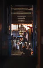 Frame it (Adarsh Kuruvath) Tags: elephant festival koodalmanikyam temple irinjalakuda people tradition