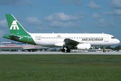 F-OHMD-1-KMIA-NOV1994 (Alpha Mike Aviation Photography) Tags: miami mia kmia mexicana airbus a320 fohmd