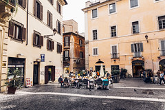 Rom at its best (matmatson) Tags: cosy street cafe kaffee caf streetphotography streetstyle old oldbuilding people travel instatravel travelblog travelblogger travelphotography rom roma rome italia italy italien vibrant colorful color streetcafe relax free freedom gemtlich