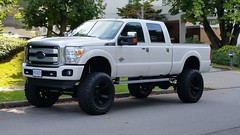 Super Duty F-350 Platinum Truck (D70) Tags: super duty f350 platinum truck burnaby bc canada crew cab